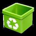 Dsquared, Empty, Green, Trash Icon