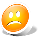 Emoticon, Icontexto, Sad, Webdev Icon