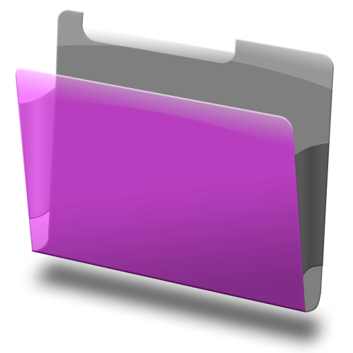 Labeled, Purple Icon