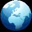 Globe, Vista Icon