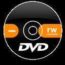 Dvd, Minus, Rw Icon