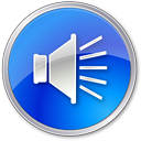 Volumenormalblue Icon