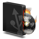 Burner, Burning, Dvd, Usb Icon