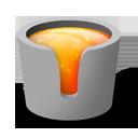 Melting, Pot Icon