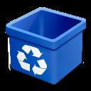 Blue, Dsquared, Empty, Trash Icon