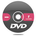 Dvd, Minus, r Icon