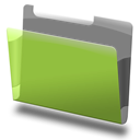 Green, Labeled Icon