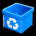 Aqua, Dsquared, Empty, Trash Icon