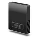 Drive, Gb, Internal, Slim Icon