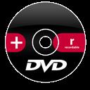 Dvd, Plus, r Icon