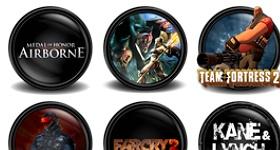 Mega Games Pack 01 Icons