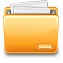 File, Folder, With Icon