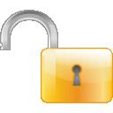 Lock, Off Icon
