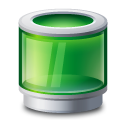 Bin, Green, Recycle Icon