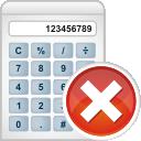 Calculator, Remove Icon