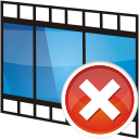 Movie, Remove, Track Icon