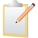 Edit, Note Icon