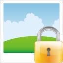 Image, Lock Icon