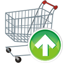 Cart, Shopping, Up Icon