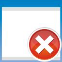 Remove, Window Icon