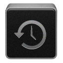Black, Machine, Time Icon