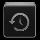 Black, Machine, Time Icon