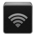 Airport, Black, Wifi, Wireless Icon