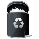 Dock, Full, Recycle Icon