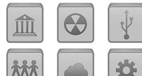 iBox Grey Icons