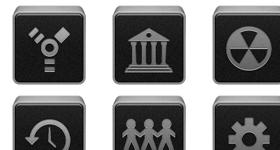 iBox Black Icons