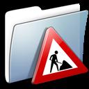 Folder, Graphite, Smooth, Works Icon