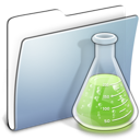 Copy, Experiments, Folder, Graphite, Smooth Icon