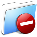 Aqua, Folder, Private, Smooth Icon