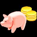 Money, Pig Icon