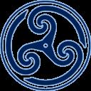 Blue, Triskelion, Wheeled Icon