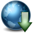 Download, Earth Icon