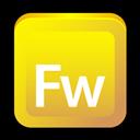 Adobe, Cs, Fireworks Icon