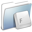 Folder, Fonts, Graphite, Smooth Icon