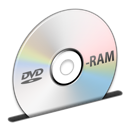 Disc, Dvd, Ram Icon