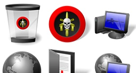 Elite Desktop Icons