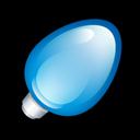 Blue, Christmas, Light Icon