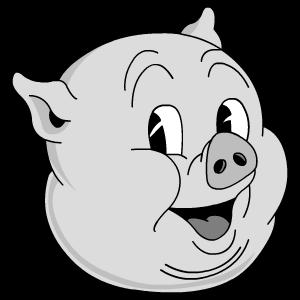 Old, Porky Icon