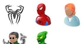 Spiderman Icons