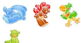 Animal Pins Icons