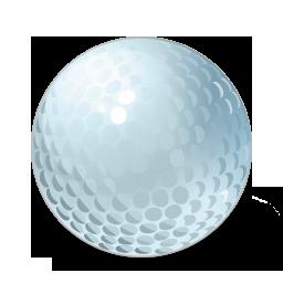 Ball, Golf Icon