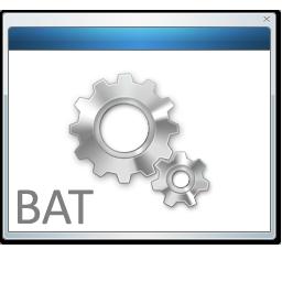 Bat, File Icon