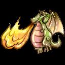 Dragon, Fire Icon