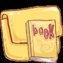 Book, Folder, Hp Icon