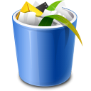 Bin, f, Recycle Icon