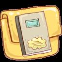 Folder, Hp, Notebook Icon